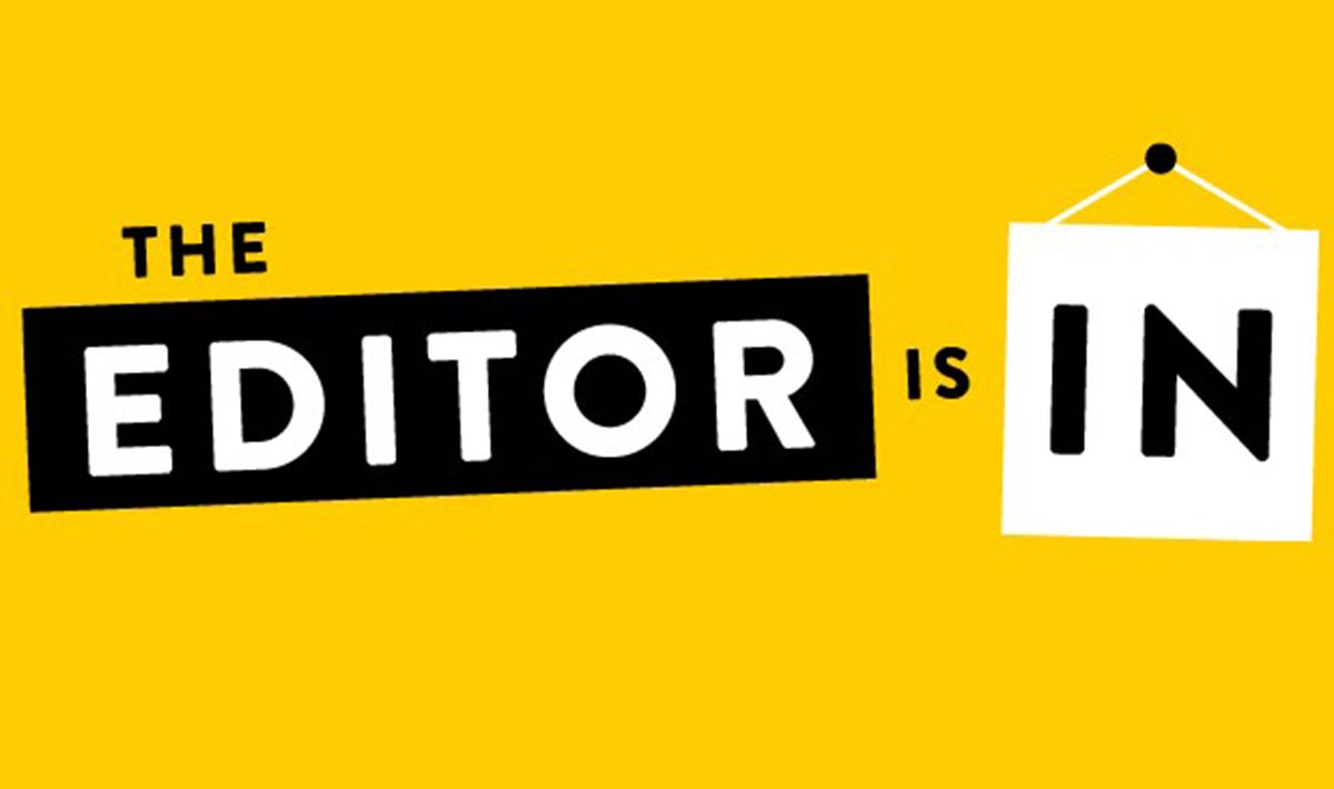 THE EDITOR IS IN RECENSIONE