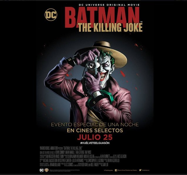BATMAN: THE KILLING JOKE RECENSIONE