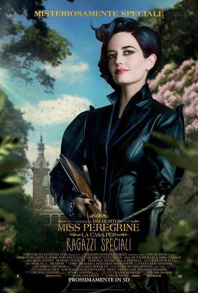 MISS PEREGRINE-LA CASA PER BAMBINI SPECIALI RECENSIONE